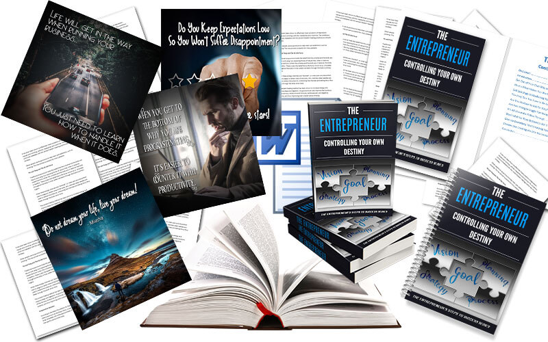 Entrepreneur- Controlling Your Own Destiny PLR Package