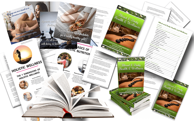 Mind & Body Health & Wellness PLR Package