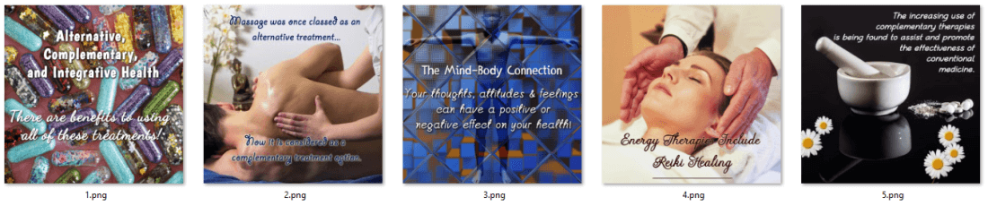 Mind and Body Health and Wellness PLR Social Posters