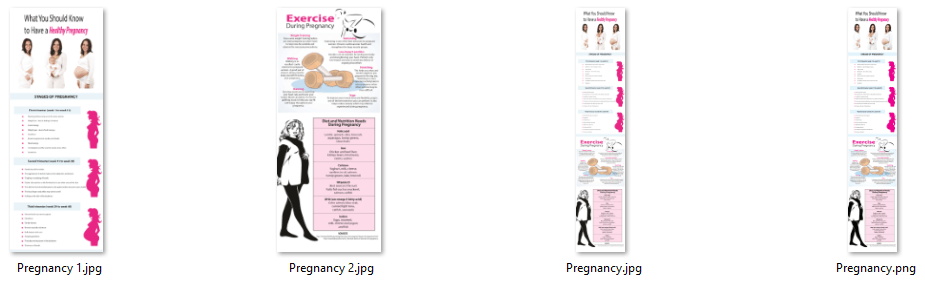 Pregnancy PLR Infographic