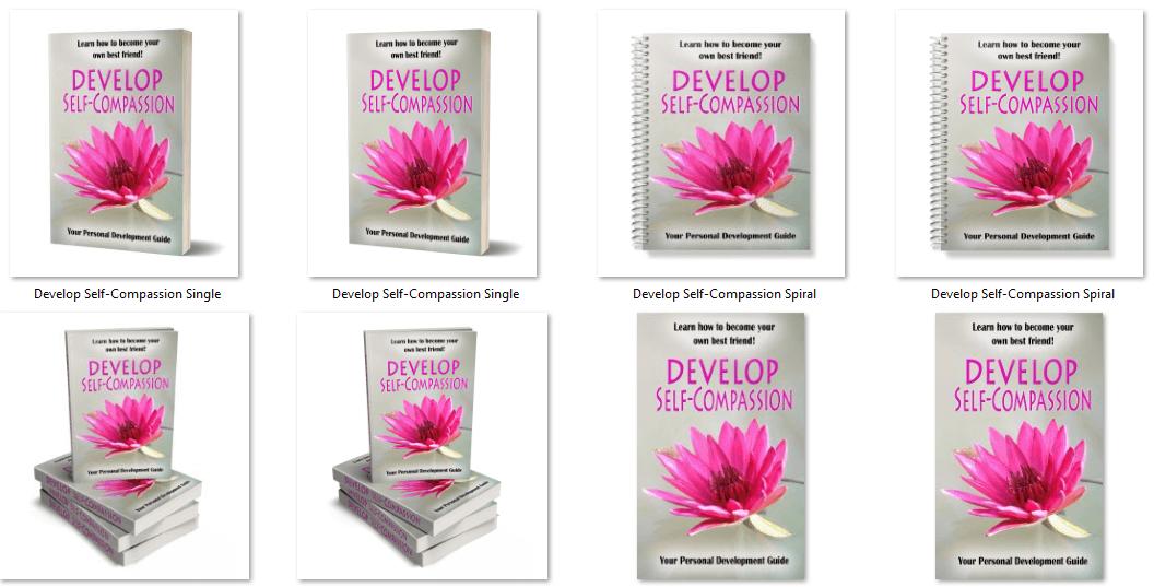 Self-Compassion PLR eCover Graphics