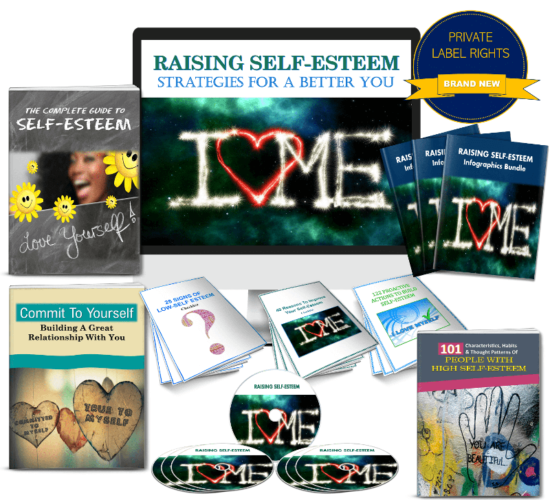 Self Esteem PLR Package