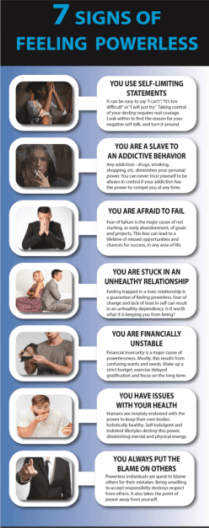 Feeling Powerless Infographic