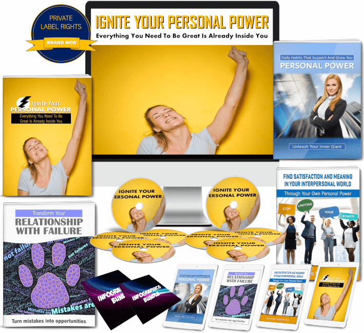 Ignite Personal Power PLR Package