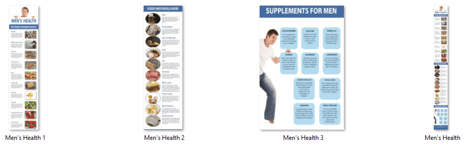 Men's Health Infographics