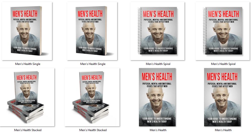 Men's Health PLR eBook Covers