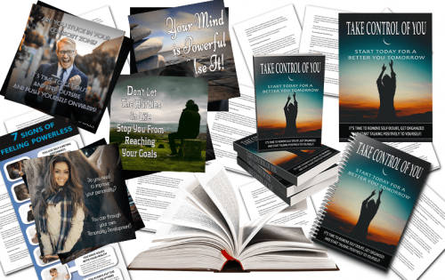 Taking Control of Your Life PLR Package
