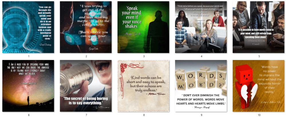 Public Speaking PLR Social Posters 5