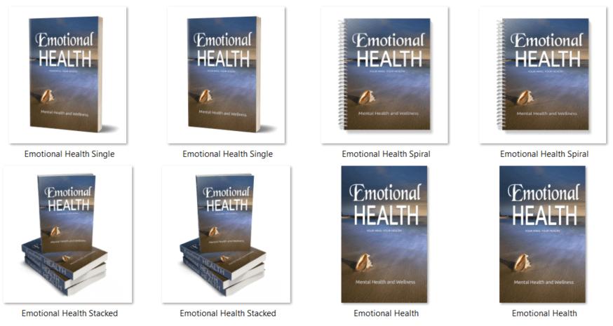 Emotional Health PLR Report eCovers