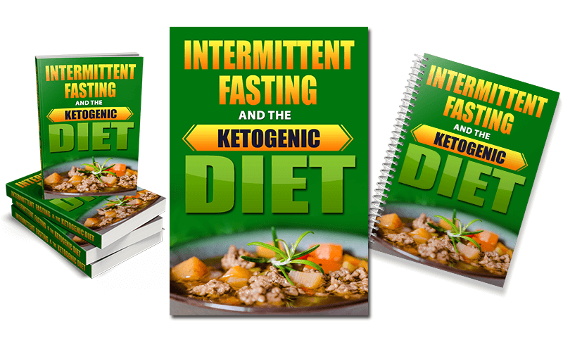 Intermittent Fasting and Keto Diet PLR Report eCover pack