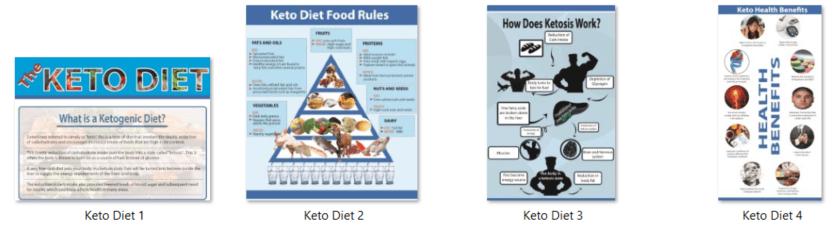 Keto Diet PLR Infographics
