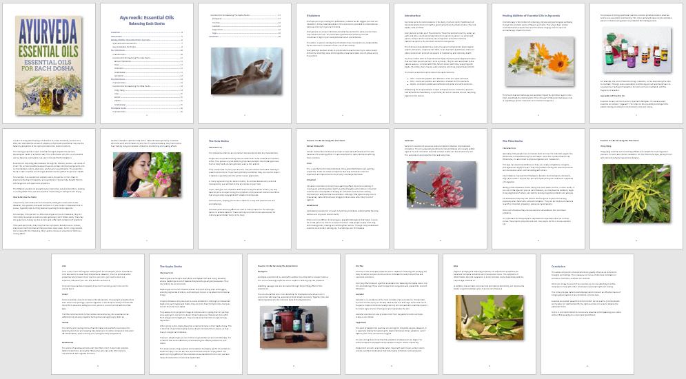 Ayurveda Essential Oils PLR Report