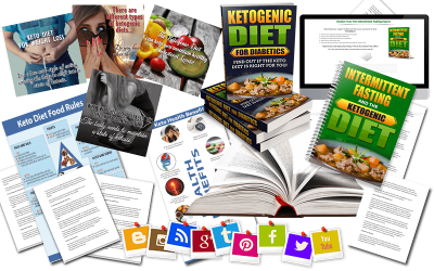 Ketogenic Diet PLR Mega Package