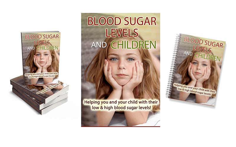 Blood Sugar In Children PLR eCover