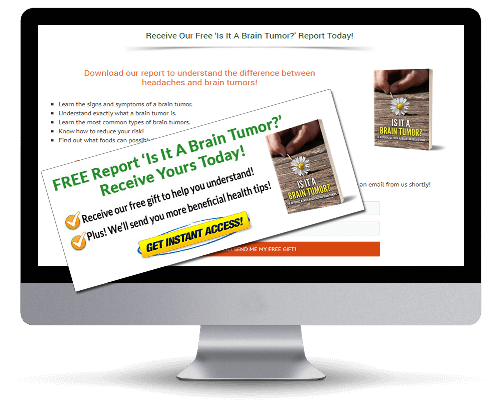 Brain Tumor PLR Squeeze Page