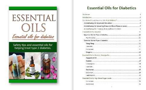 Essential Oils for Diabetes PLR Report Contents