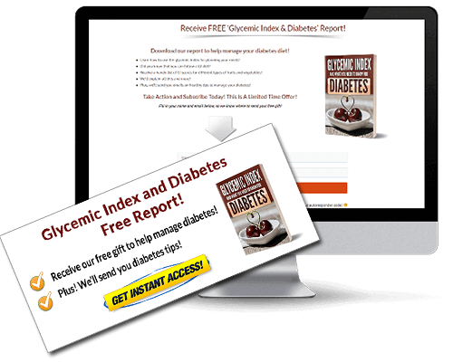 Glycemic Index and Diabetes PLR Squeeze Page