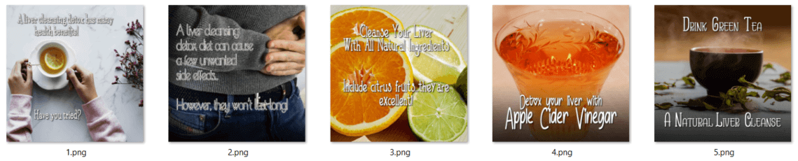 Liver Cleansing PLR Posters