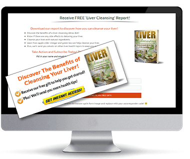 Liver Cleansing PLR Squeeze Page