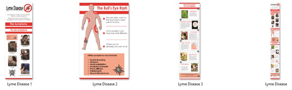 Lyme Disease PLR Infographics