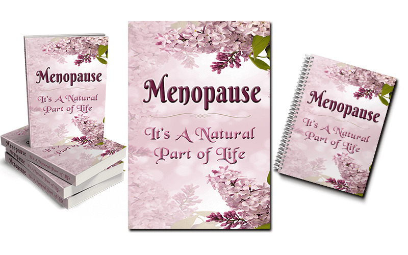 Menopause PLR Report 1 eCover Graphics