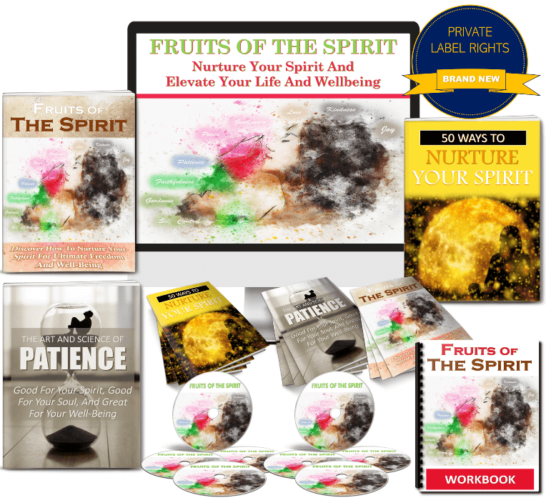 Personal Development PLR -Nurture Your Spirit Plus Our Bonuses