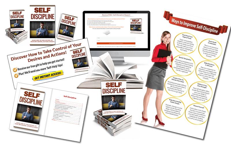 Self-Discipline PLR Package