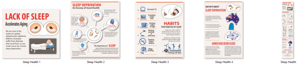 Sleep Health PLR Infographics