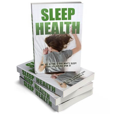Sleep Health PLR eCover