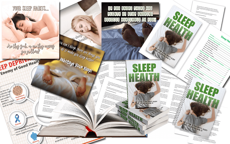 Sleep Health PLR Package
