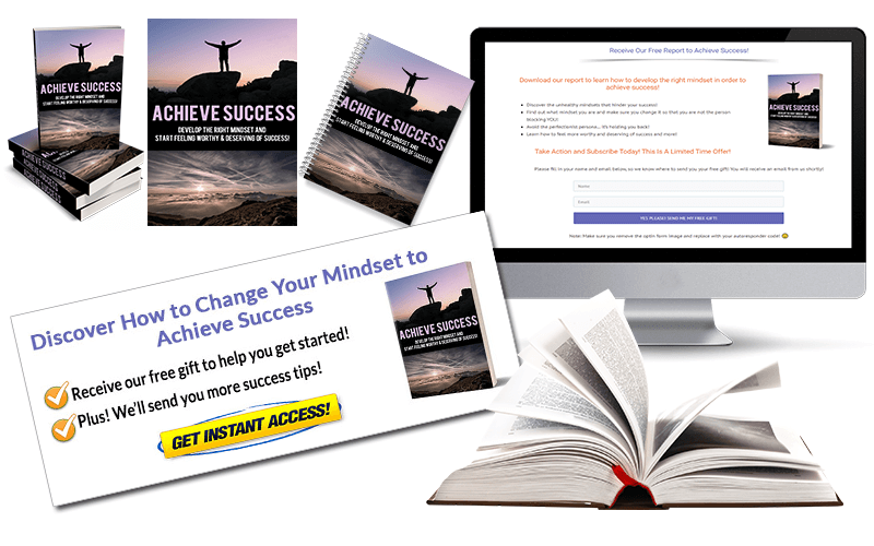 Achieve Success PLR Report package