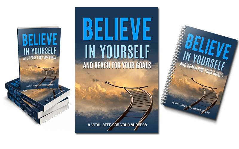 Believe In Yourself PLR eBook Package