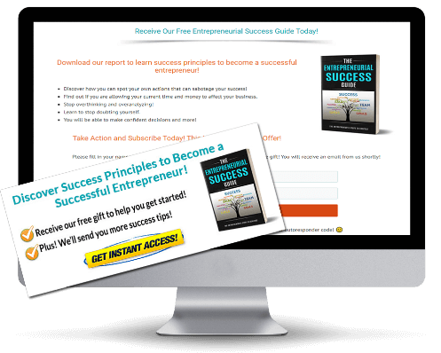 Entrepreneurial Success Guide PLR Squeeze Page
