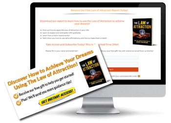 Law of Attraction PLR Squeeze Page