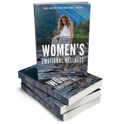 Women's Emotional Wellness PLR eBook Cover