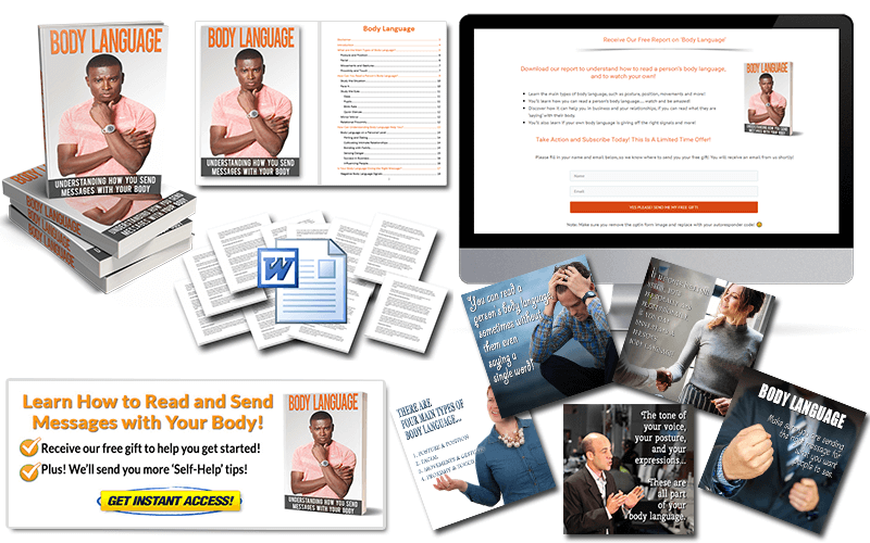 Body Language PLR Package