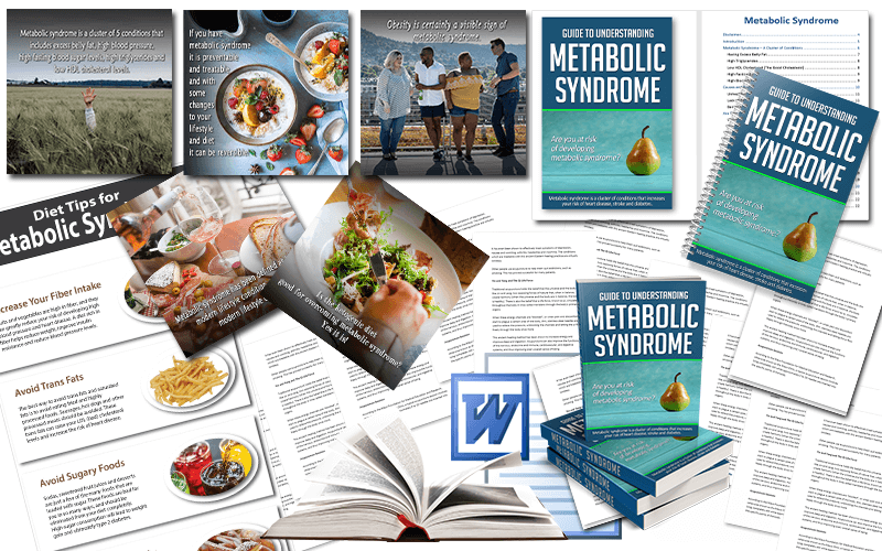 Metabolic Syndrome PLR Package