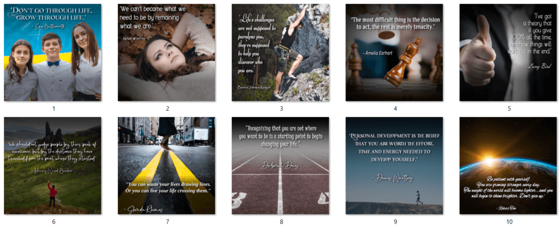 Social Quote Posters PLR 2