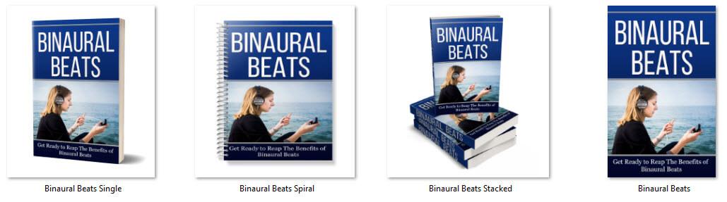 Binaural Beats PLR Report eCover Graphics