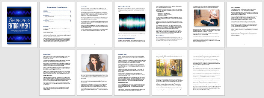 Brainwave Entrainment PLR Report