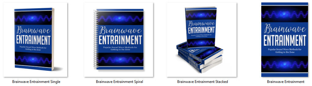 Brainwave Entrainment PLR eCover Graphics