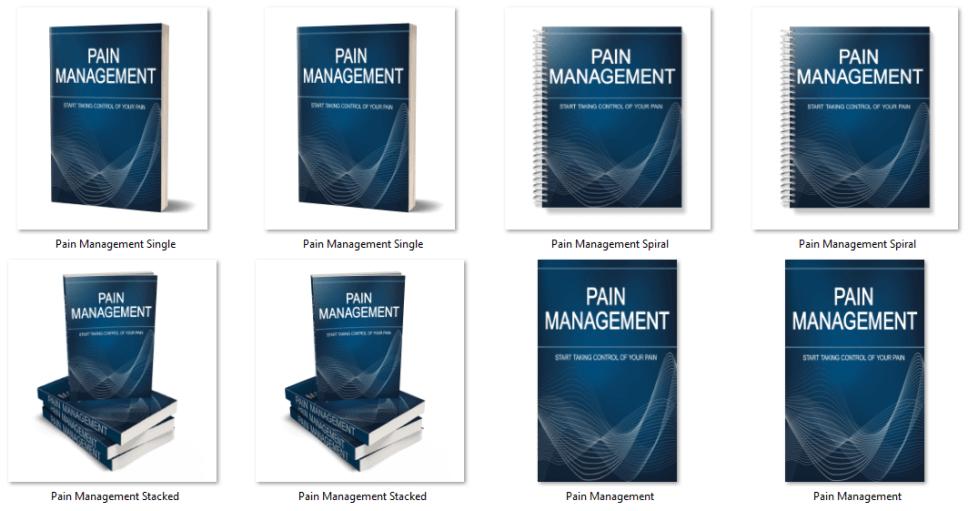 Pain Management PLR eCover Graphics