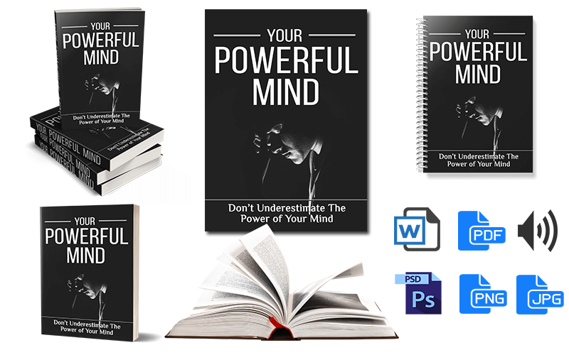 Powerful Mind PLR eBook and eCovers