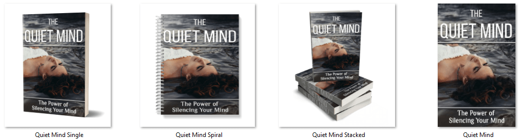The Quiet Mind PLR Report eCovers