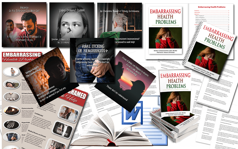 Embarrassing Health Problems PLR Package
