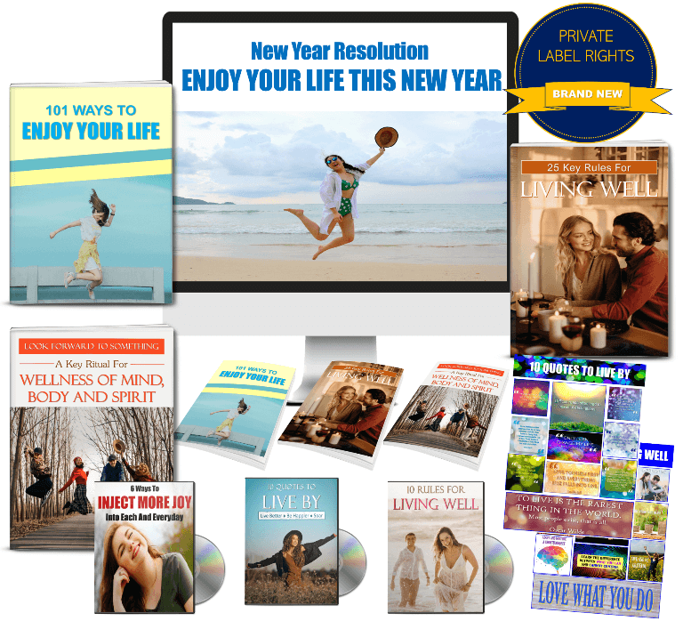 Enjoy Your Life PLR Package