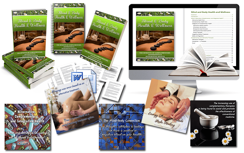 BONUS - Mind & Body Health & Wellness PLR Package