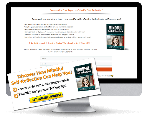 Self-Reflection PLR Squeeze Page