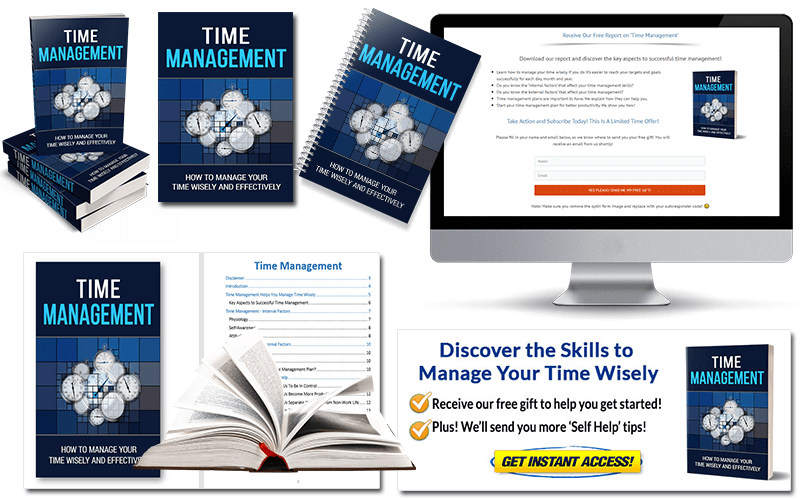 Time Management PLR Report Package