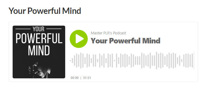 Your Powerful Mind Audio eBook
